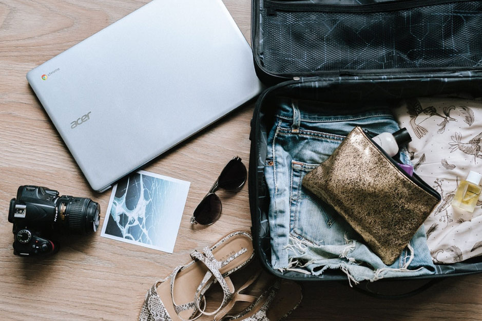 What to pack when you're off travelling
